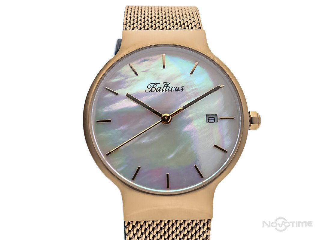 BALTICUS SKY ROSE GOLD WHITE PEARL