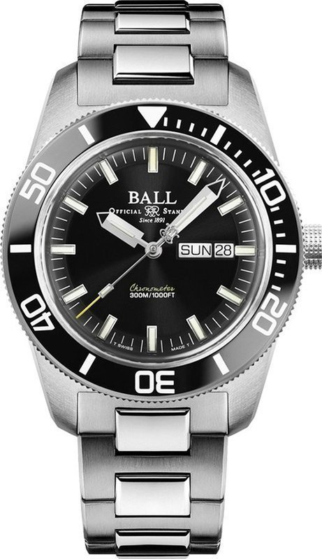 Ball Engineer Master II Skindiver Heritage DM3308A-SC-BK