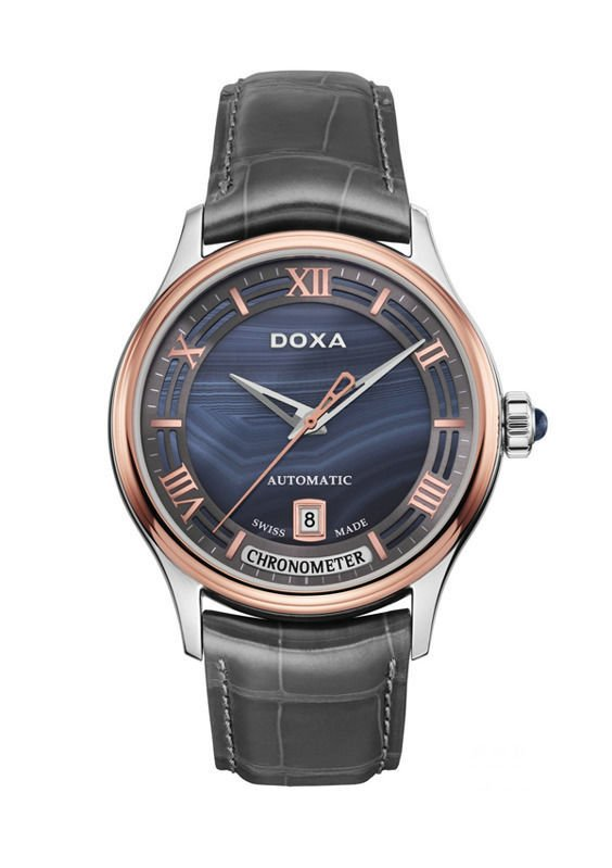 DOXA BLUE PLANET GRANDE METRE LIMITED EDITION D198RAG