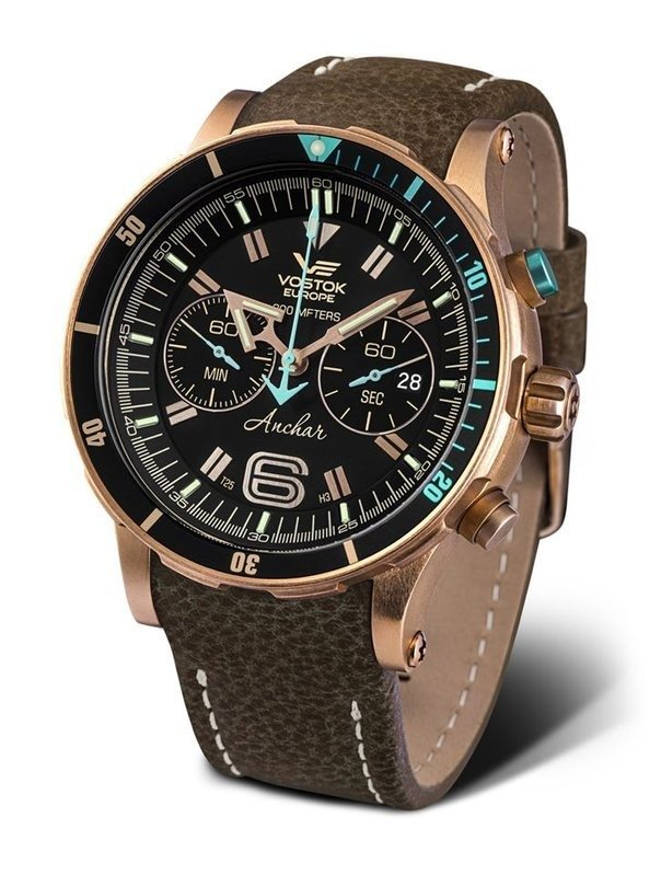 VOSTOK EUROPE ANCHAR CHRONO 6S21-510O585