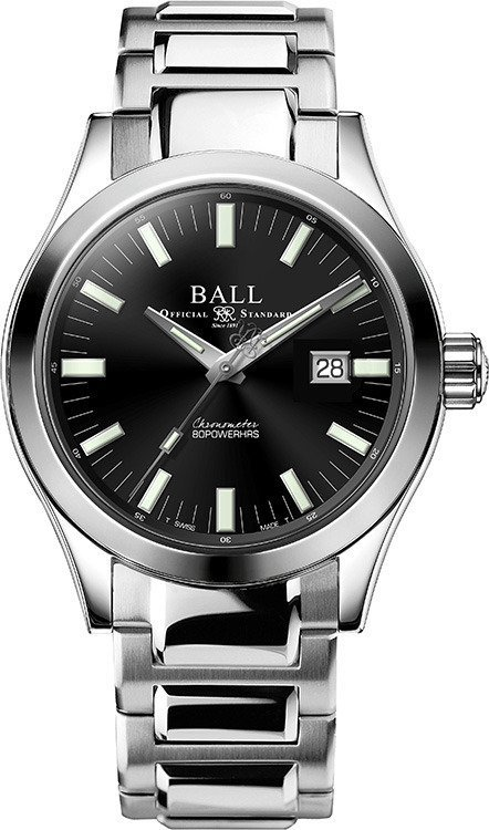 Zegarek męski Ball Engineer III Silver Star Polish Navy Automatic Limited NM2180C-S10J-BE