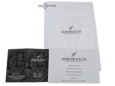 AEROWATCH RENAISSANCE CHRONOGRAPH MOON PHASES 84936 AA06